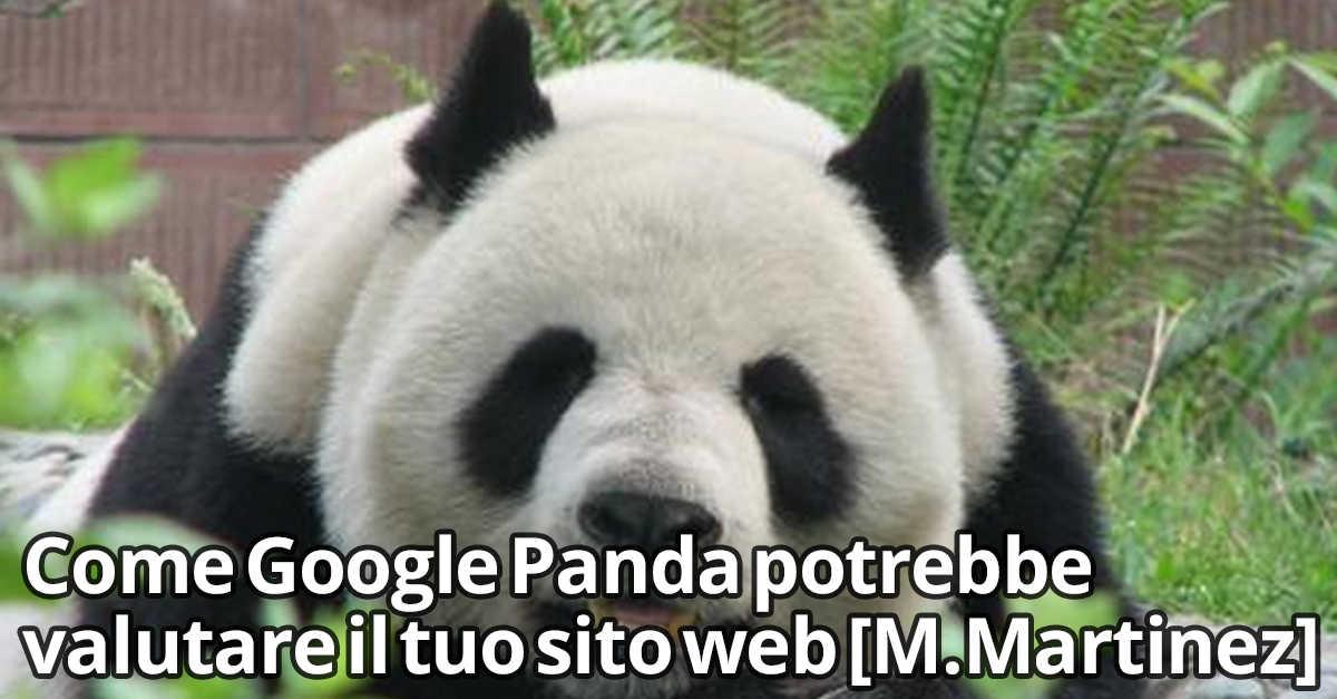 Google Panda valutazione sito