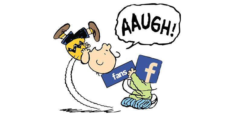 Facebook fa lo stesso scherzo di Lucy a Charlie Brown!
