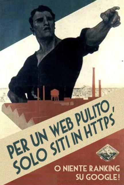 Propaganda Google per https.
